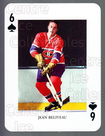2008-09 Swedish Ice Hockey Playing Card #19 Jean Beliveau<br/>6 In Stock - $3.00 each - <a href=https://centericecollectibles.foxycart.com/cart?name=2008-09%20Swedish%20Ice%20Hockey%20Playing%20Card%20%2319%20Jean%20Beliveau...&price=$3.00&code=279265 class=foxycart> Buy it now! </a>