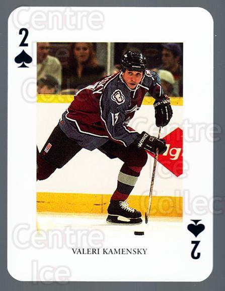 2008-09 Swedish Ice Hockey Playing Card #15 Valeri Kamensky<br/>5 In Stock - $3.00 each - <a href=https://centericecollectibles.foxycart.com/cart?name=2008-09%20Swedish%20Ice%20Hockey%20Playing%20Card%20%2315%20Valeri%20Kamensky...&price=$3.00&code=279269 class=foxycart> Buy it now! </a>