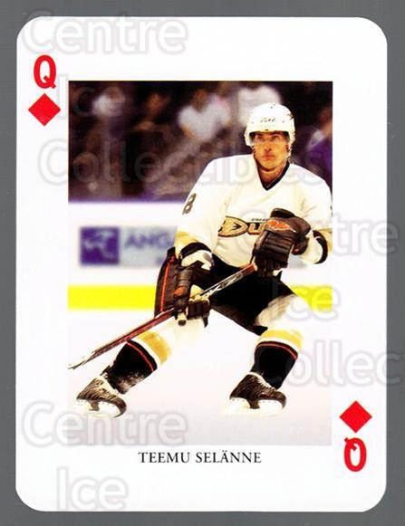 2008-09 Swedish Ice Hockey Playing Card #38 Teemu Selanne<br/>2 In Stock - $5.00 each - <a href=https://centericecollectibles.foxycart.com/cart?name=2008-09%20Swedish%20Ice%20Hockey%20Playing%20Card%20%2338%20Teemu%20Selanne...&price=$5.00&code=279272 class=foxycart> Buy it now! </a>