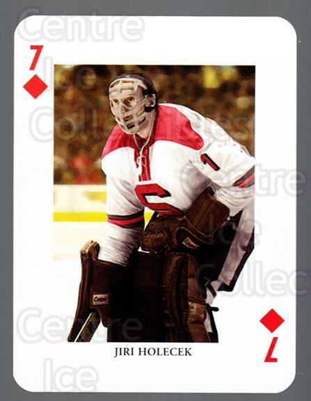 2008-09 Swedish Ice Hockey Playing Card #33 Jiri Holecek<br/>3 In Stock - $3.00 each - <a href=https://centericecollectibles.foxycart.com/cart?name=2008-09%20Swedish%20Ice%20Hockey%20Playing%20Card%20%2333%20Jiri%20Holecek...&price=$3.00&code=279277 class=foxycart> Buy it now! </a>