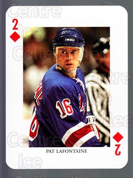 2008-09 Swedish Ice Hockey Playing Card #28 Pat Lafontaine<br/>5 In Stock - $3.00 each - <a href=https://centericecollectibles.foxycart.com/cart?name=2008-09%20Swedish%20Ice%20Hockey%20Playing%20Card%20%2328%20Pat%20Lafontaine...&price=$3.00&code=279282 class=foxycart> Buy it now! </a>