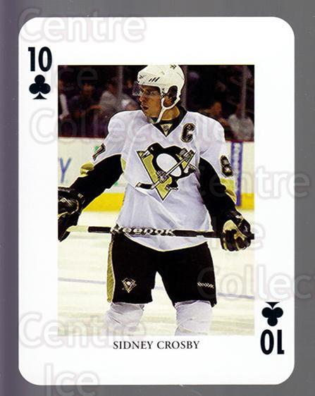 2008-09 Swedish Ice Hockey Playing Card #49 Sidney Crosby<br/>3 In Stock - $5.00 each - <a href=https://centericecollectibles.foxycart.com/cart?name=2008-09%20Swedish%20Ice%20Hockey%20Playing%20Card%20%2349%20Sidney%20Crosby...&quantity_max=3&price=$5.00&code=279287 class=foxycart> Buy it now! </a>