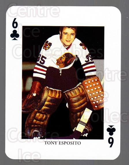 2008-09 Swedish Ice Hockey Playing Card #45 Tony Esposito<br/>4 In Stock - $3.00 each - <a href=https://centericecollectibles.foxycart.com/cart?name=2008-09%20Swedish%20Ice%20Hockey%20Playing%20Card%20%2345%20Tony%20Esposito...&price=$3.00&code=279291 class=foxycart> Buy it now! </a>