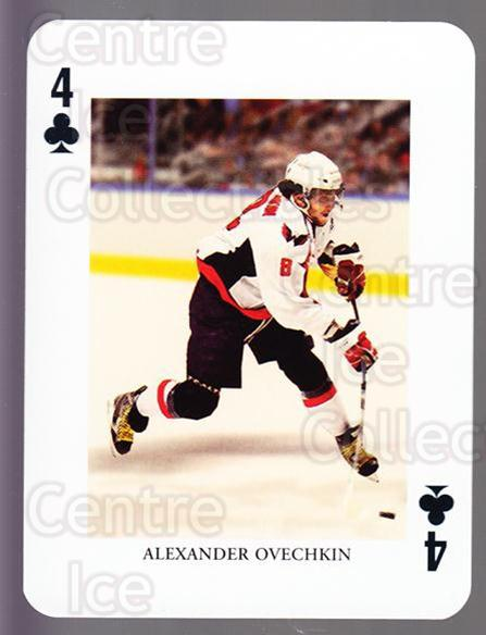 2008-09 Swedish Ice Hockey Playing Card #43 Alexander Ovechkin<br/>3 In Stock - $3.00 each - <a href=https://centericecollectibles.foxycart.com/cart?name=2008-09%20Swedish%20Ice%20Hockey%20Playing%20Card%20%2343%20Alexander%20Ovech...&price=$3.00&code=279293 class=foxycart> Buy it now! </a>
