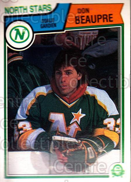 1983-84 O-Pee-Chee #166 Don Beaupre<br/>6 In Stock - $1.00 each - <a href=https://centericecollectibles.foxycart.com/cart?name=1983-84%20O-Pee-Chee%20%23166%20Don%20Beaupre...&quantity_max=6&price=$1.00&code=27932 class=foxycart> Buy it now! </a>