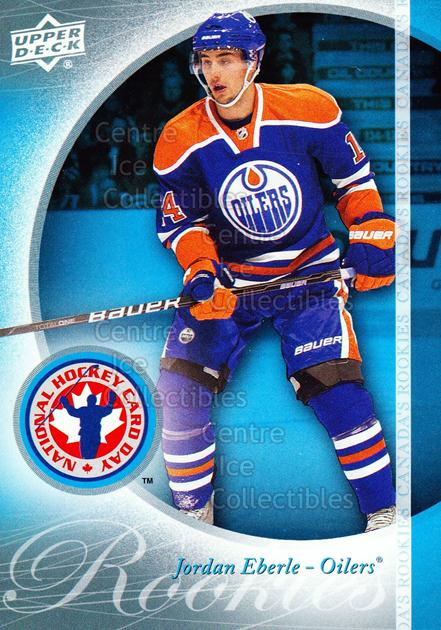 2011 Upper Deck National Hockey Card Day #4 Jordan Eberle<br/>7 In Stock - $2.00 each - <a href=https://centericecollectibles.foxycart.com/cart?name=2011%20Upper%20Deck%20National%20Hockey%20Card%20Day%20%234%20Jordan%20Eberle...&quantity_max=7&price=$2.00&code=279349 class=foxycart> Buy it now! </a>