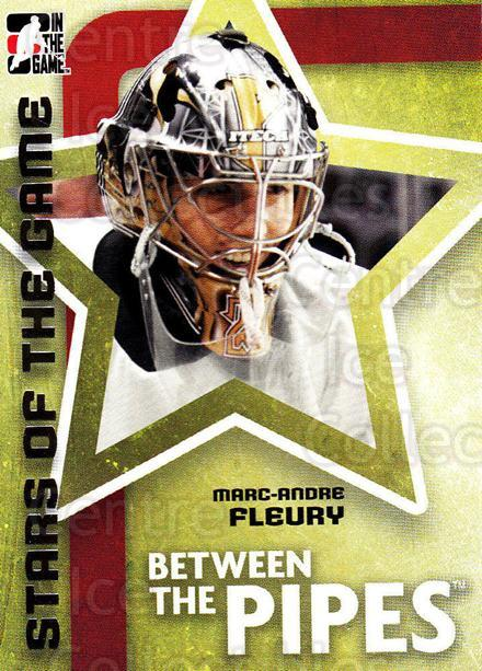 2006-07 Between The Pipes #69 Marc-Andre Fleury<br/>3 In Stock - $1.00 each - <a href=https://centericecollectibles.foxycart.com/cart?name=2006-07%20Between%20The%20Pipes%20%2369%20Marc-Andre%20Fleu...&price=$1.00&code=279495 class=foxycart> Buy it now! </a>