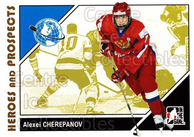 2007-08 ITG Heroes and Prospects #12 Alexei Cherepanov<br/>21 In Stock - $1.00 each - <a href=https://centericecollectibles.foxycart.com/cart?name=2007-08%20ITG%20Heroes%20and%20Prospects%20%2312%20Alexei%20Cherepan...&price=$1.00&code=279503 class=foxycart> Buy it now! </a>