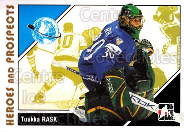 2007-08 ITG Heroes and Prospects #13 Tuukka Rask<br/>17 In Stock - $1.00 each - <a href=https://centericecollectibles.foxycart.com/cart?name=2007-08%20ITG%20Heroes%20and%20Prospects%20%2313%20Tuukka%20Rask...&price=$1.00&code=279504 class=foxycart> Buy it now! </a>