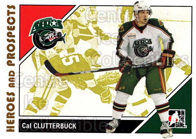 2007-08 ITG Heroes and Prospects #25 Cal Clutterbuck<br/>21 In Stock - $1.00 each - <a href=https://centericecollectibles.foxycart.com/cart?name=2007-08%20ITG%20Heroes%20and%20Prospects%20%2325%20Cal%20Clutterbuck...&price=$1.00&code=279505 class=foxycart> Buy it now! </a>