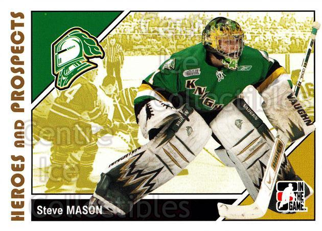2007-08 ITG Heroes and Prospects #80 Steve Mason<br/>16 In Stock - $1.00 each - <a href=https://centericecollectibles.foxycart.com/cart?name=2007-08%20ITG%20Heroes%20and%20Prospects%20%2380%20Steve%20Mason...&quantity_max=16&price=$1.00&code=279506 class=foxycart> Buy it now! </a>