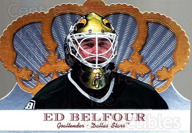 2000-01 Crown Royale #34 Ed Belfour<br/>2 In Stock - $1.00 each - <a href=https://centericecollectibles.foxycart.com/cart?name=2000-01%20Crown%20Royale%20%2334%20Ed%20Belfour...&quantity_max=2&price=$1.00&code=279540 class=foxycart> Buy it now! </a>