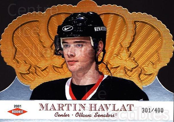 2000-01 Crown Royale #134 Martin Havlat<br/>1 In Stock - $10.00 each - <a href=https://centericecollectibles.foxycart.com/cart?name=2000-01%20Crown%20Royale%20%23134%20Martin%20Havlat...&quantity_max=1&price=$10.00&code=279561 class=foxycart> Buy it now! </a>