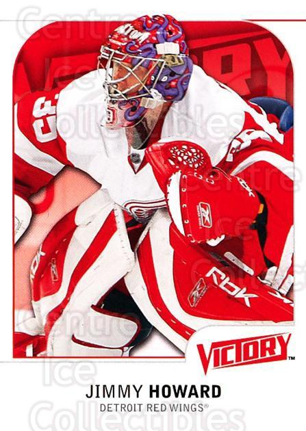 2009-10 UD Victory #266 Jimmy Howard<br/>6 In Stock - $1.00 each - <a href=https://centericecollectibles.foxycart.com/cart?name=2009-10%20UD%20Victory%20%23266%20Jimmy%20Howard...&quantity_max=6&price=$1.00&code=279642 class=foxycart> Buy it now! </a>