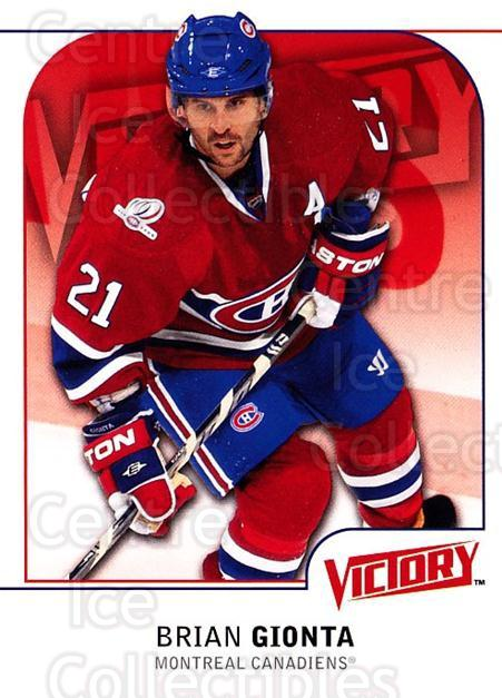 2009-10 UD Victory #277 Brian Gionta<br/>6 In Stock - $1.00 each - <a href=https://centericecollectibles.foxycart.com/cart?name=2009-10%20UD%20Victory%20%23277%20Brian%20Gionta...&quantity_max=6&price=$1.00&code=279653 class=foxycart> Buy it now! </a>