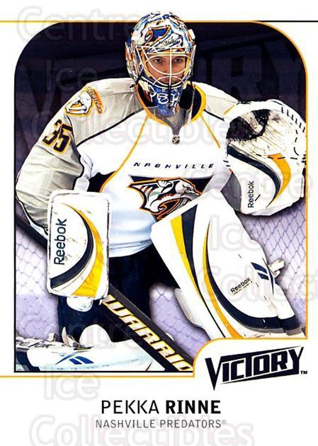 2009-10 UD Victory #278 Pekka Rinne<br/>6 In Stock - $1.00 each - <a href=https://centericecollectibles.foxycart.com/cart?name=2009-10%20UD%20Victory%20%23278%20Pekka%20Rinne...&quantity_max=6&price=$1.00&code=279654 class=foxycart> Buy it now! </a>