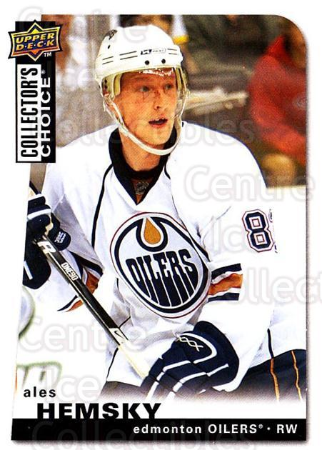 2008-09 Collectors Choice #1 Ales Hemsky<br/>3 In Stock - $1.00 each - <a href=https://centericecollectibles.foxycart.com/cart?name=2008-09%20Collectors%20Choice%20%231%20Ales%20Hemsky...&quantity_max=3&price=$1.00&code=279677 class=foxycart> Buy it now! </a>