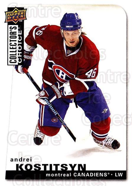 2008-09 Collectors Choice #10 Andrei Kostitsyn<br/>2 In Stock - $1.00 each - <a href=https://centericecollectibles.foxycart.com/cart?name=2008-09%20Collectors%20Choice%20%2310%20Andrei%20Kostitsy...&quantity_max=2&price=$1.00&code=279686 class=foxycart> Buy it now! </a>