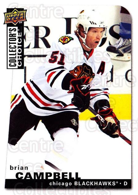 2008-09 Collectors Choice #19 Brian Campbell<br/>3 In Stock - $1.00 each - <a href=https://centericecollectibles.foxycart.com/cart?name=2008-09%20Collectors%20Choice%20%2319%20Brian%20Campbell...&quantity_max=3&price=$1.00&code=279695 class=foxycart> Buy it now! </a>