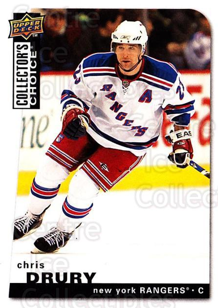 2008-09 Collectors Choice #24 Chris Drury<br/>3 In Stock - $1.00 each - <a href=https://centericecollectibles.foxycart.com/cart?name=2008-09%20Collectors%20Choice%20%2324%20Chris%20Drury...&quantity_max=3&price=$1.00&code=279700 class=foxycart> Buy it now! </a>