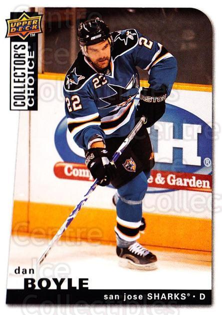 2008-09 Collectors Choice #32 Dan Boyle<br/>2 In Stock - $1.00 each - <a href=https://centericecollectibles.foxycart.com/cart?name=2008-09%20Collectors%20Choice%20%2332%20Dan%20Boyle...&quantity_max=2&price=$1.00&code=279708 class=foxycart> Buy it now! </a>