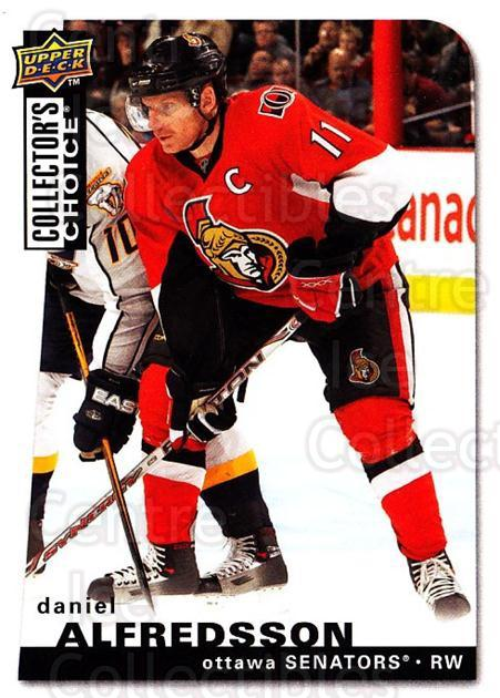 2008-09 Collectors Choice #35 Daniel Alfredsson<br/>3 In Stock - $1.00 each - <a href=https://centericecollectibles.foxycart.com/cart?name=2008-09%20Collectors%20Choice%20%2335%20Daniel%20Alfredss...&quantity_max=3&price=$1.00&code=279711 class=foxycart> Buy it now! </a>