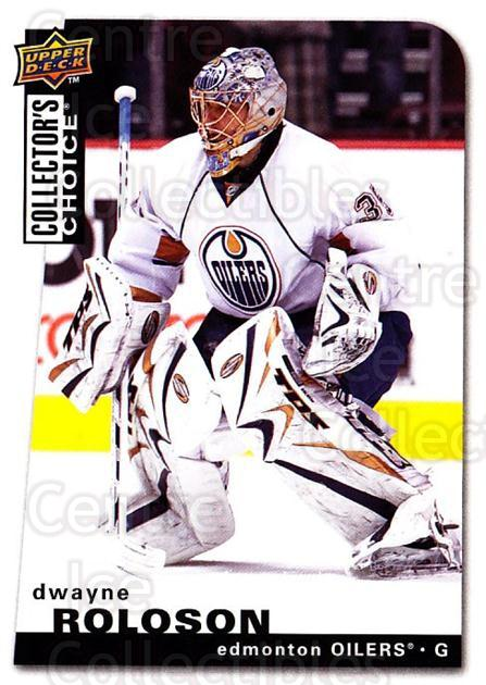 2008-09 Collectors Choice #52 Dwayne Roloson<br/>2 In Stock - $1.00 each - <a href=https://centericecollectibles.foxycart.com/cart?name=2008-09%20Collectors%20Choice%20%2352%20Dwayne%20Roloson...&quantity_max=2&price=$1.00&code=279728 class=foxycart> Buy it now! </a>