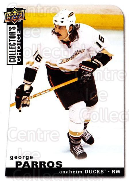 2008-09 Collectors Choice #59 George Parros<br/>3 In Stock - $1.00 each - <a href=https://centericecollectibles.foxycart.com/cart?name=2008-09%20Collectors%20Choice%20%2359%20George%20Parros...&quantity_max=3&price=$1.00&code=279735 class=foxycart> Buy it now! </a>