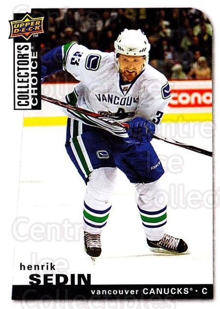 2008-09 Collectors Choice #64 Henrik Sedin<br/>3 In Stock - $1.00 each - <a href=https://centericecollectibles.foxycart.com/cart?name=2008-09%20Collectors%20Choice%20%2364%20Henrik%20Sedin...&quantity_max=3&price=$1.00&code=279740 class=foxycart> Buy it now! </a>