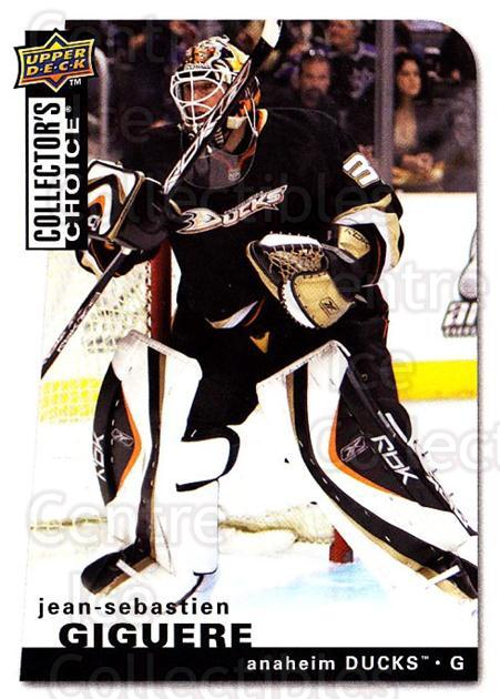 2008-09 Collectors Choice #77 Jean-Sebastien Giguere<br/>3 In Stock - $1.00 each - <a href=https://centericecollectibles.foxycart.com/cart?name=2008-09%20Collectors%20Choice%20%2377%20Jean-Sebastien%20...&quantity_max=3&price=$1.00&code=279753 class=foxycart> Buy it now! </a>