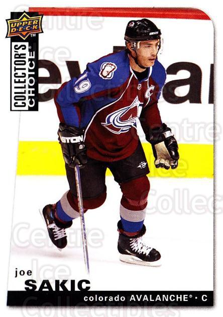 2008-09 Collectors Choice #80 Joe Sakic<br/>3 In Stock - $2.00 each - <a href=https://centericecollectibles.foxycart.com/cart?name=2008-09%20Collectors%20Choice%20%2380%20Joe%20Sakic...&quantity_max=3&price=$2.00&code=279756 class=foxycart> Buy it now! </a>