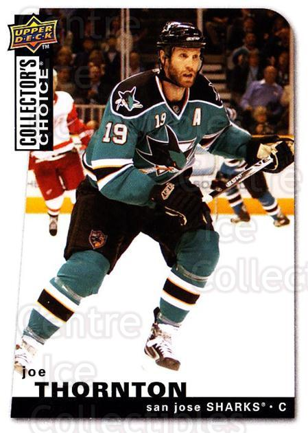 2008-09 Collectors Choice #81 Joe Thornton<br/>3 In Stock - $1.00 each - <a href=https://centericecollectibles.foxycart.com/cart?name=2008-09%20Collectors%20Choice%20%2381%20Joe%20Thornton...&quantity_max=3&price=$1.00&code=279757 class=foxycart> Buy it now! </a>