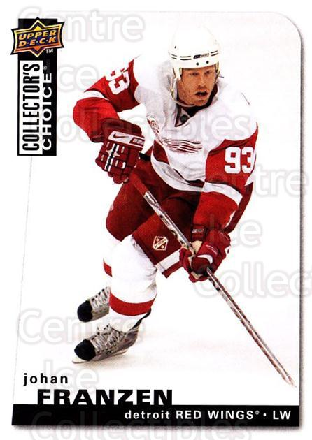 2008-09 Collectors Choice #82 Johan Franzen<br/>2 In Stock - $1.00 each - <a href=https://centericecollectibles.foxycart.com/cart?name=2008-09%20Collectors%20Choice%20%2382%20Johan%20Franzen...&quantity_max=2&price=$1.00&code=279758 class=foxycart> Buy it now! </a>