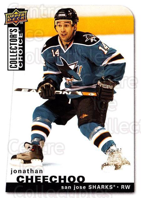 2008-09 Collectors Choice #85 Jonathan Cheechoo<br/>2 In Stock - $1.00 each - <a href=https://centericecollectibles.foxycart.com/cart?name=2008-09%20Collectors%20Choice%20%2385%20Jonathan%20Cheech...&quantity_max=2&price=$1.00&code=279761 class=foxycart> Buy it now! </a>