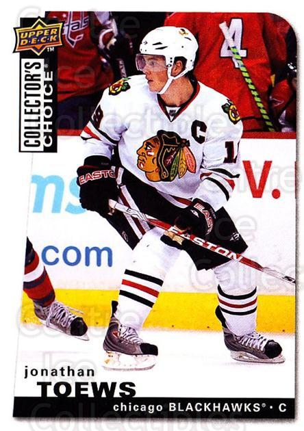 2008-09 Collectors Choice #86 Jonathan Toews<br/>2 In Stock - $2.00 each - <a href=https://centericecollectibles.foxycart.com/cart?name=2008-09%20Collectors%20Choice%20%2386%20Jonathan%20Toews...&quantity_max=2&price=$2.00&code=279762 class=foxycart> Buy it now! </a>