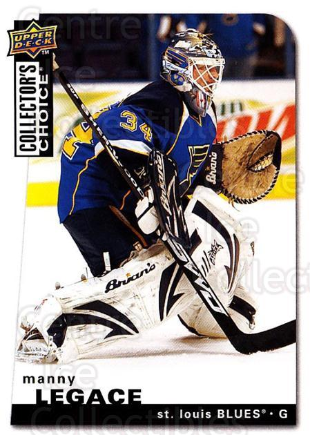 2008-09 Collectors Choice #95 Manny Legace<br/>3 In Stock - $1.00 each - <a href=https://centericecollectibles.foxycart.com/cart?name=2008-09%20Collectors%20Choice%20%2395%20Manny%20Legace...&quantity_max=3&price=$1.00&code=279771 class=foxycart> Buy it now! </a>