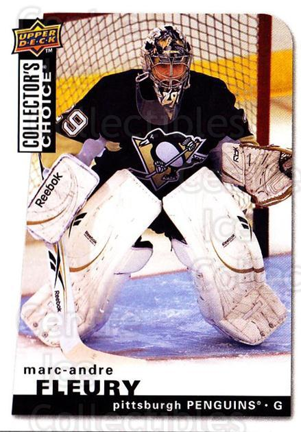 2008-09 Collectors Choice #98 Marc-Andre Fleury<br/>1 In Stock - $2.00 each - <a href=https://centericecollectibles.foxycart.com/cart?name=2008-09%20Collectors%20Choice%20%2398%20Marc-Andre%20Fleu...&quantity_max=1&price=$2.00&code=279774 class=foxycart> Buy it now! </a>
