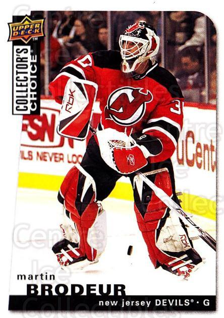 2008-09 Collectors Choice #104 Martin Brodeur<br/>2 In Stock - $2.00 each - <a href=https://centericecollectibles.foxycart.com/cart?name=2008-09%20Collectors%20Choice%20%23104%20Martin%20Brodeur...&quantity_max=2&price=$2.00&code=279780 class=foxycart> Buy it now! </a>