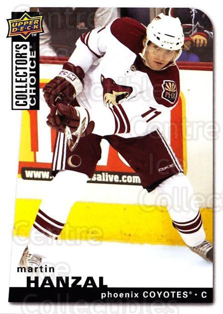2008-09 Collectors Choice #107 Martin Hanzal<br/>3 In Stock - $1.00 each - <a href=https://centericecollectibles.foxycart.com/cart?name=2008-09%20Collectors%20Choice%20%23107%20Martin%20Hanzal...&quantity_max=3&price=$1.00&code=279783 class=foxycart> Buy it now! </a>