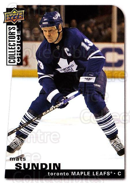 2008-09 Collectors Choice #111 Mats Sundin<br/>3 In Stock - $1.00 each - <a href=https://centericecollectibles.foxycart.com/cart?name=2008-09%20Collectors%20Choice%20%23111%20Mats%20Sundin...&quantity_max=3&price=$1.00&code=279787 class=foxycart> Buy it now! </a>