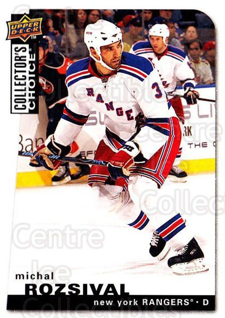 2008-09 Collectors Choice #116 Michal Rozsival<br/>3 In Stock - $1.00 each - <a href=https://centericecollectibles.foxycart.com/cart?name=2008-09%20Collectors%20Choice%20%23116%20Michal%20Rozsival...&quantity_max=3&price=$1.00&code=279792 class=foxycart> Buy it now! </a>