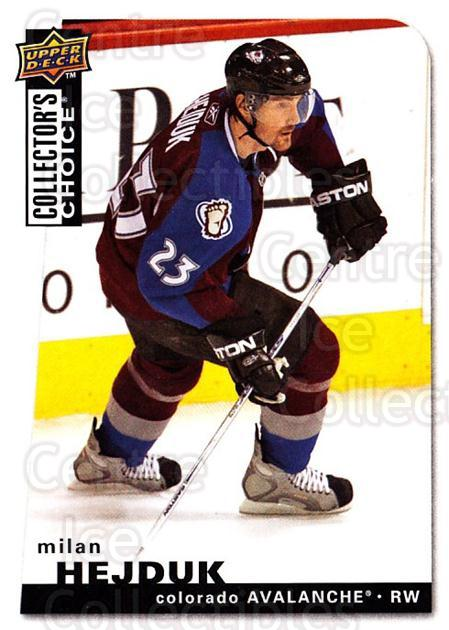 2008-09 Collectors Choice #126 Milan Hejduk<br/>3 In Stock - $1.00 each - <a href=https://centericecollectibles.foxycart.com/cart?name=2008-09%20Collectors%20Choice%20%23126%20Milan%20Hejduk...&quantity_max=3&price=$1.00&code=279802 class=foxycart> Buy it now! </a>