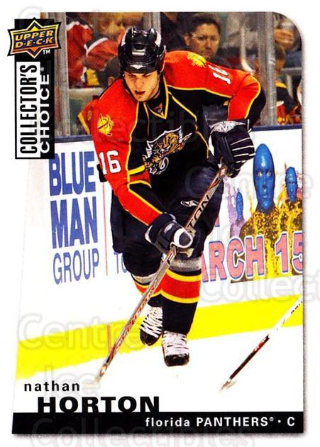 2008-09 Collectors Choice #130 Nathan Horton<br/>3 In Stock - $1.00 each - <a href=https://centericecollectibles.foxycart.com/cart?name=2008-09%20Collectors%20Choice%20%23130%20Nathan%20Horton...&quantity_max=3&price=$1.00&code=279806 class=foxycart> Buy it now! </a>