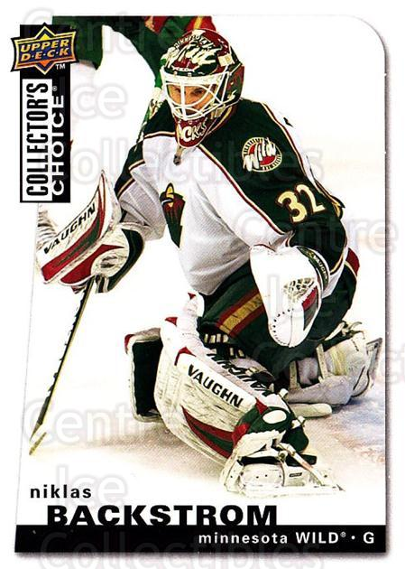 2008-09 Collectors Choice #133 Niklas Backstrom<br/>3 In Stock - $1.00 each - <a href=https://centericecollectibles.foxycart.com/cart?name=2008-09%20Collectors%20Choice%20%23133%20Niklas%20Backstro...&quantity_max=3&price=$1.00&code=279809 class=foxycart> Buy it now! </a>