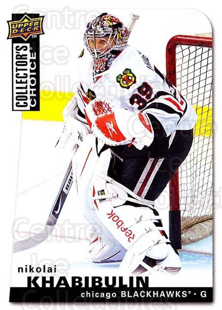 2008-09 Collectors Choice #135 Nikolai Khabibulin<br/>2 In Stock - $1.00 each - <a href=https://centericecollectibles.foxycart.com/cart?name=2008-09%20Collectors%20Choice%20%23135%20Nikolai%20Khabibu...&quantity_max=2&price=$1.00&code=279811 class=foxycart> Buy it now! </a>