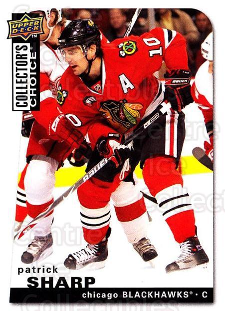 2008-09 Collectors Choice #143 Patrick Sharp<br/>3 In Stock - $1.00 each - <a href=https://centericecollectibles.foxycart.com/cart?name=2008-09%20Collectors%20Choice%20%23143%20Patrick%20Sharp...&quantity_max=3&price=$1.00&code=279819 class=foxycart> Buy it now! </a>