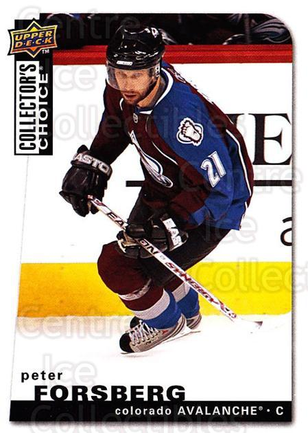 2008-09 Collectors Choice #150 Peter Forsberg<br/>2 In Stock - $1.00 each - <a href=https://centericecollectibles.foxycart.com/cart?name=2008-09%20Collectors%20Choice%20%23150%20Peter%20Forsberg...&quantity_max=2&price=$1.00&code=279826 class=foxycart> Buy it now! </a>
