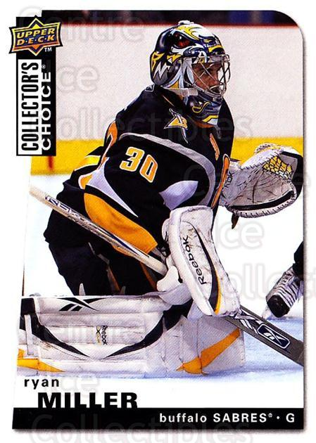 2008-09 Collectors Choice #165 Ryan Miller<br/>3 In Stock - $1.00 each - <a href=https://centericecollectibles.foxycart.com/cart?name=2008-09%20Collectors%20Choice%20%23165%20Ryan%20Miller...&quantity_max=3&price=$1.00&code=279841 class=foxycart> Buy it now! </a>