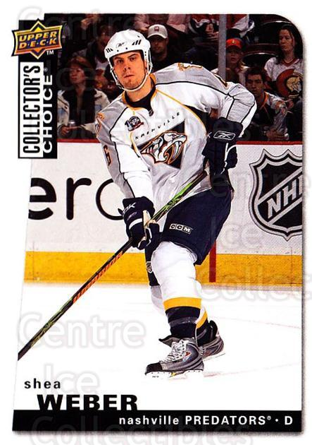 2008-09 Collectors Choice #176 Shea Weber<br/>2 In Stock - $1.00 each - <a href=https://centericecollectibles.foxycart.com/cart?name=2008-09%20Collectors%20Choice%20%23176%20Shea%20Weber...&quantity_max=2&price=$1.00&code=279852 class=foxycart> Buy it now! </a>