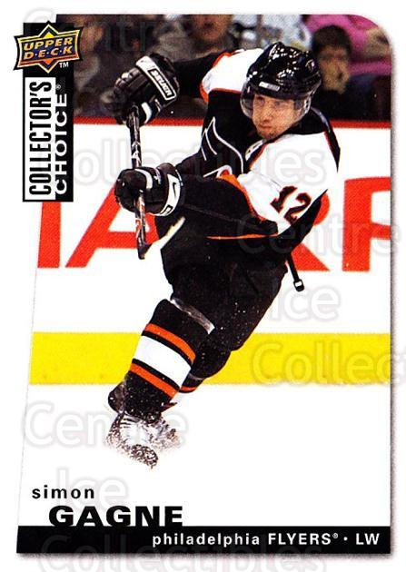 2008-09 Collectors Choice #178 Simon Gagne<br/>3 In Stock - $1.00 each - <a href=https://centericecollectibles.foxycart.com/cart?name=2008-09%20Collectors%20Choice%20%23178%20Simon%20Gagne...&quantity_max=3&price=$1.00&code=279854 class=foxycart> Buy it now! </a>